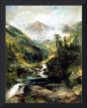 Mountain of the Holy Cross (1875) by Thomas Moran