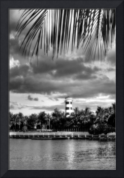 Port Lucaya Light II BW