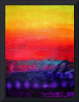 Philip Bowman Evening Colors Modern Abstract Art