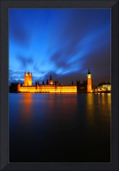 Houses of Parliament at Dusk - London