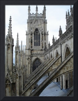 Flying Butresses at York Minster