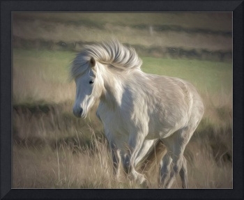 whitehorsepainterly