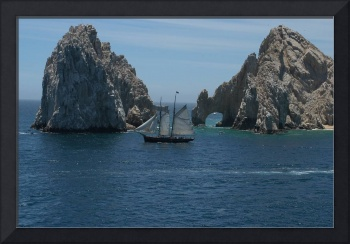 Clipper Ship at Los Arcos, Cabo San Lucas