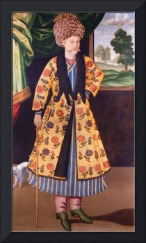Unknown, Iran, late 17th Century~Portrait of a Eur