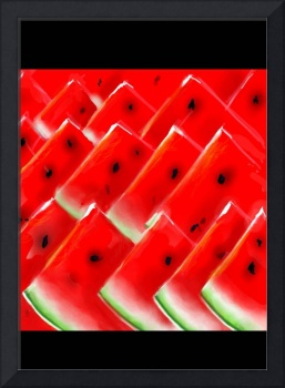 Rows of Melon