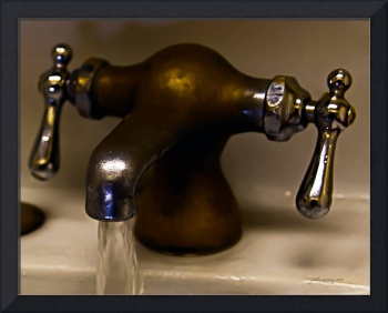 Old Brass Faucet