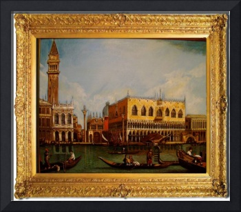 Grand Canal Venice (after Canaletto)