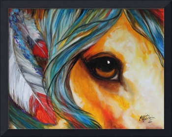 SPIRIT EYE INDIAN WAR HORSE