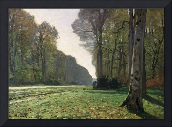 The Road to Bas Breau, Fontainebleau