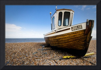 Fishing boat near Deal, Kent UK