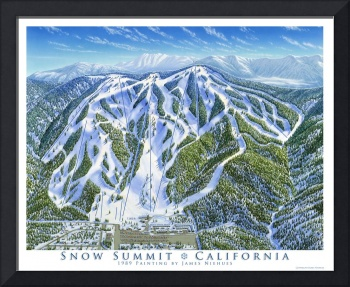 Snow Summit Resort, California