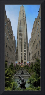 Rockefeller Center pano
