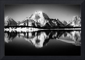 Mount Moran in Grand Teton National Park