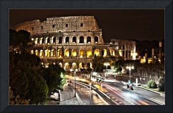 The Colosseum at Night HDR