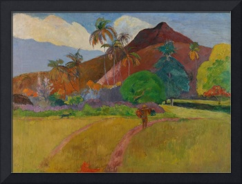 Tahitian Landscape, 1891 (oil on canvas)