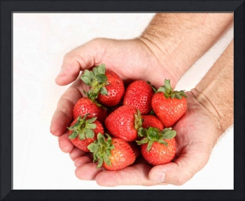 Handful of Strawberries 2
