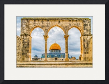 Dome of the Rock by D. Brent Walton
