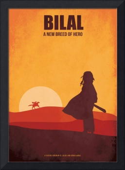 Bilal Minimalist Movie Poster