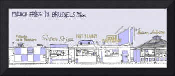 French Fries in Brussels by Philippe Debongnie
