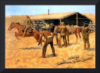 Coming and Going of the Pony Express (1900)