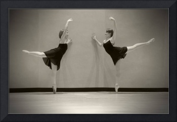 Two Ballet Dancers, Three Stages, Folsom