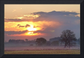Misty County Sunrise