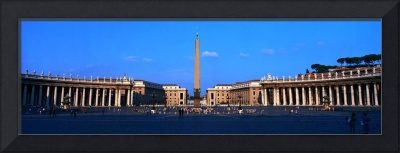St Peters Square Vatican City Rome Italy