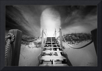Stairs To Heaven Black White Photos