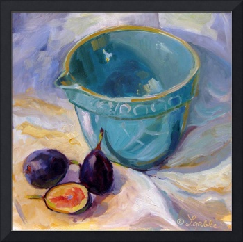 Batter Bowl and Figs