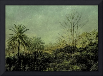 Nature Scene Grunge Vintage Style Photo