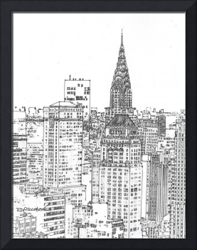 New York City picture Chrysler Building