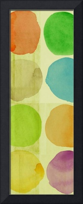 ORL-1615-2 Colorful circles on the green I 30X86