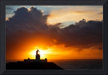 Sunset at Strumble Head Lighthouse
