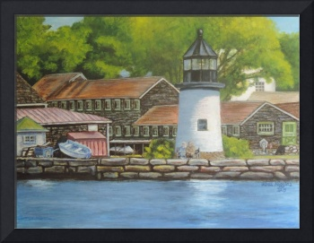 Mystic Seaport Lighthouse