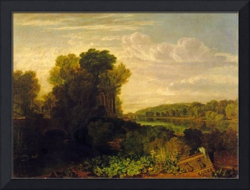 The Thames at Weybridge by Joseph Turner