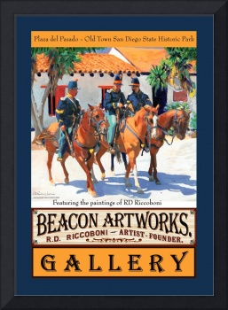 Dragoons Poster from Beacon Artworks Gallery