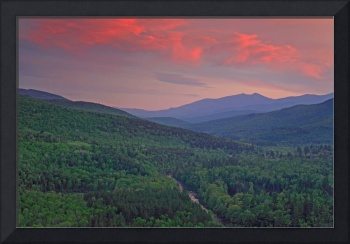 Wild River at Sundown - Evans Notch, New Hampshire