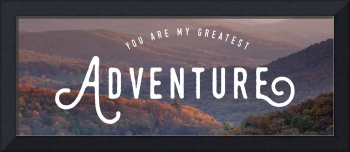 You Are My Greatest Adventure I Wall Art
