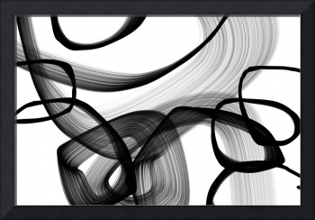 ORL-7148 Abstract Poetry in Black and White 91