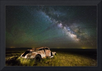 South Dakota Abandoned Car