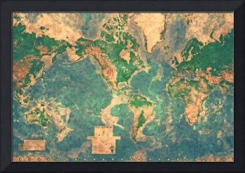 World-Map-mural 2