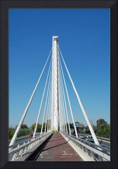 The Alamillo bridge in Seville