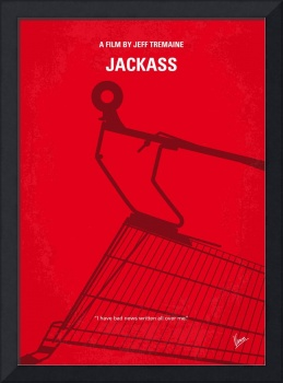 No444 My Jackass minimal movie poster