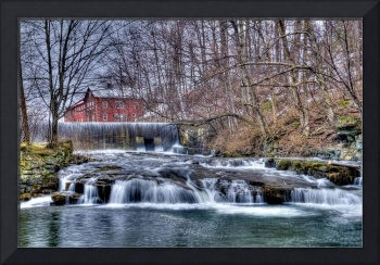 Papermill Waterfall Bennington, VT  #203