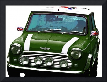 Mini Cooper Digital Art Print