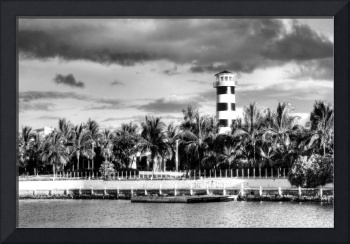 Port Lucaya Light BW