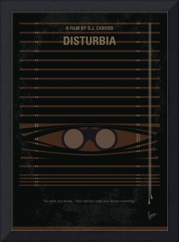 No457 My Disturbia minimal movie poster