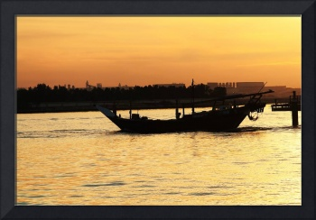 Sunset_Dhow