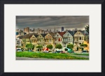 Painted Ladies San Francisco by David Smith