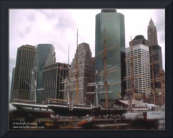 South Street Seaport, New York, September 8, 2001
